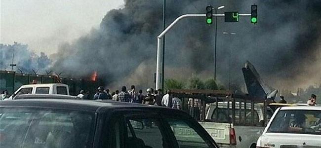 В Иране разбился пассажирский самолет Ан-140. Почти полсотни человек погибло