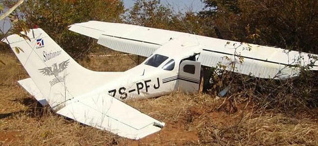 Самолет с туристами потерпел крушение у водопада Виктория в Зимбабве