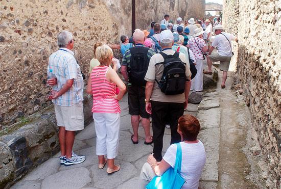 Давка в городе Помпеи