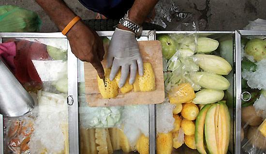 Переработка фруктов в Таиланде