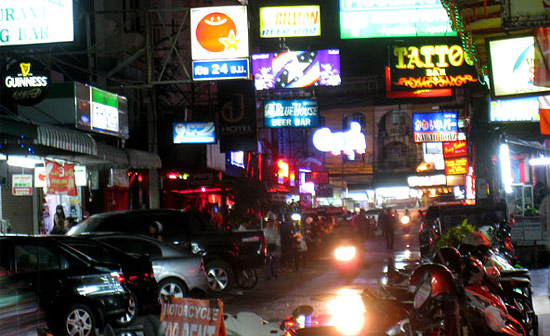 Развод туристов в Паттайе