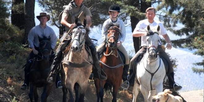 В Испании все популярнее становится конный туризм