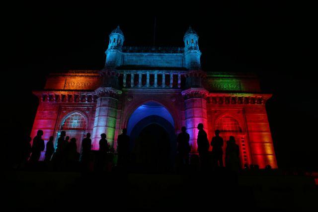 Арка «Ворота в Индию» стала настоящим арт-объектом