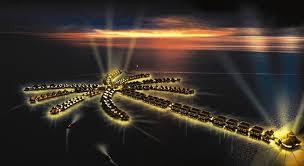 Тропический курорт AVANI Sepang GoldCoast построен в виде гигантской пальмы
