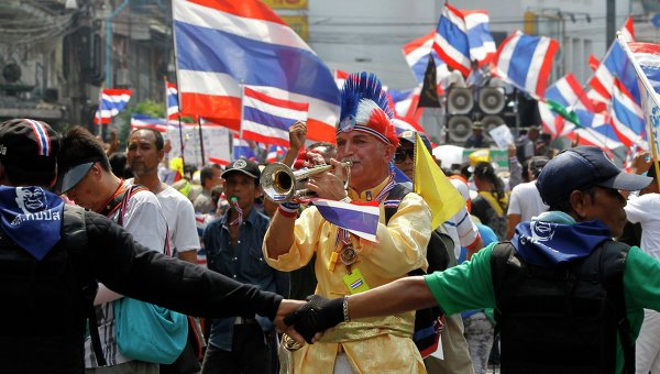 Протесты в Бангкоке не завершаются