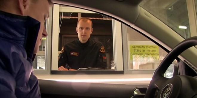 Добро пожаловать в Финляндию. Снят ролик о пересечении финской границы