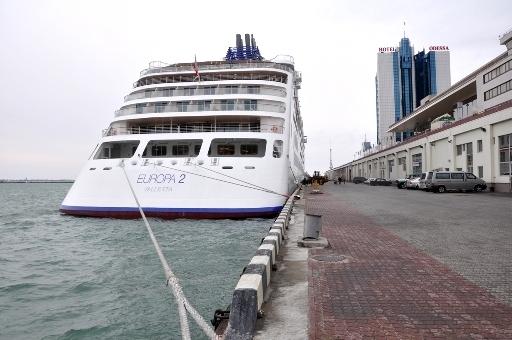 Круизный лайнер EUROPA 2 зашел в Одессу