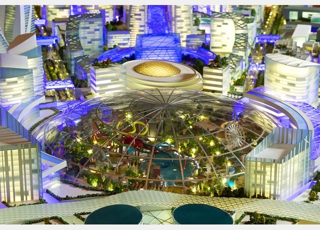 Туристический город под куполом намерены построить в ОАЭ