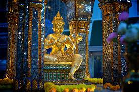 Путешественники смогут увидеть ледовые инсталляции в Бангкоке