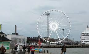 Новое колесо обозрения Helsinki Sky Wheel будет работать круглогодично