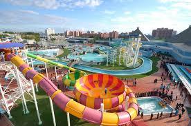 Парк культуры и отдыха с аквапарком «Мунсу» ждет гостей Северной Кореи