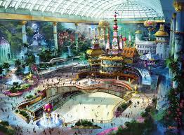 Корейские развлекательные парки позволят окунуться в рождественскую атмосферу