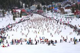 Горнолыжный курорт Шерегеш уже открыл сезон катания