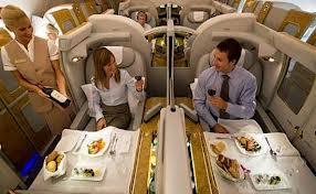 Авиакомпания Эмирейтс получила награду за лучшее бортовое питание