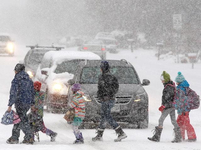Снежная буря в США разрушила все планы туристов