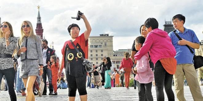 В России китайцы первым делом стремятся увидеть все достопримечательности
