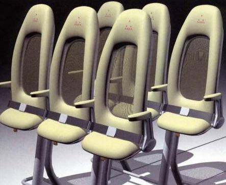 В Китае планируют внедрить стоячие места в самолетах