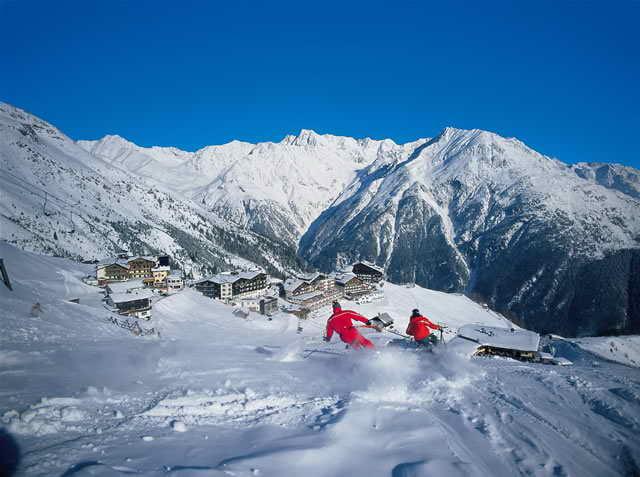 Горнолыжные курорты Австрии теряют популярность у российских туристов