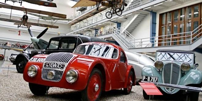 В Чехии проходит выставка редких автомобилей