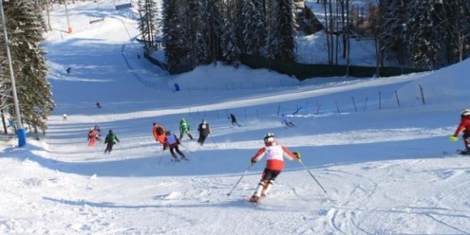 Катаясь на сочинских склонах, лыжники нарушают границу