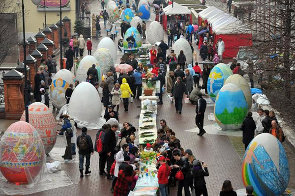 Московский фестиваль Пасхи стартует 10 апреля