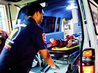 На острове Самуи в результате взрыва пострадали 10 человек