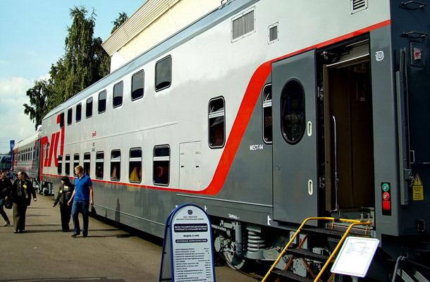С 1 июня начинает курсировать двухэтажный поезд сообщением Москва-Казань