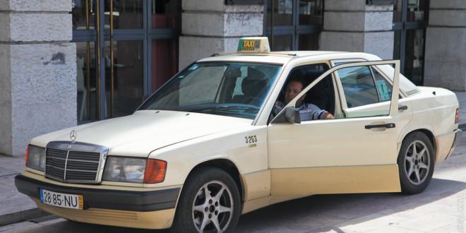 Такси в Португалии