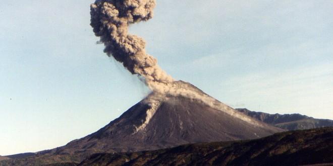Японский вулкан проснулся после 22 лет молчания