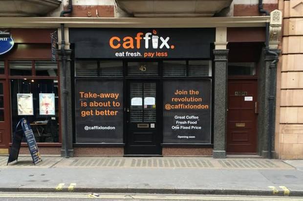 В Лондоне открылось кафе для бюджетных туристов