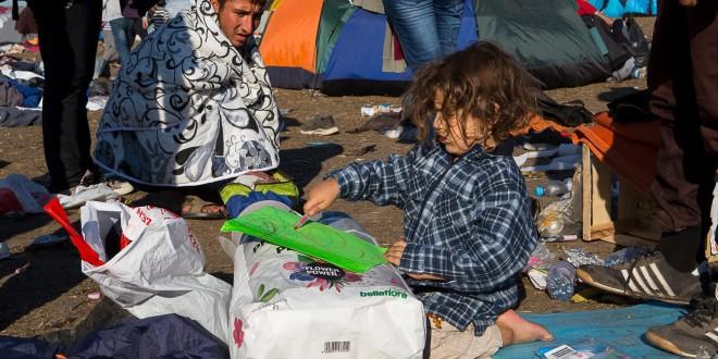 Беженцы не портят отдых туристам в Хорватии