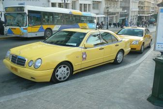 taxi afiny