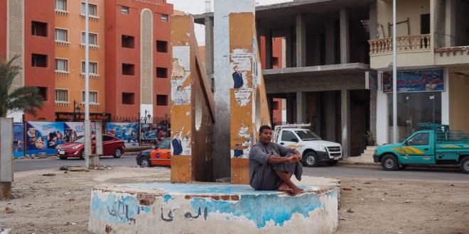 Туристический поток в Египет упал почти вдвое