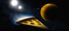 Летающая пицца или как стать пиццарменем в космосе