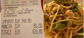В Риме туристов развели на обед