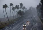 epa04902784 View of Las Americas highway before the arrival of Tropical Storm Erika in Santo Domingo, Dominican Republic, 28 August 2015. The center of Tropical Storm Erika approaches the country today leaving heavy rain in Puerto Rico and the Virgin Islands, according to the US National Hurricane Center (NHC). The operator of the airports of Dominican Republic announced today that due to Tropical Storm Erika, Cuban Airlines and Spirit have canceled their flights between and near the capital International Airport Las Americas, Santiago de Cuba and Fort Lauderdale.  EPA/Orlando Barría